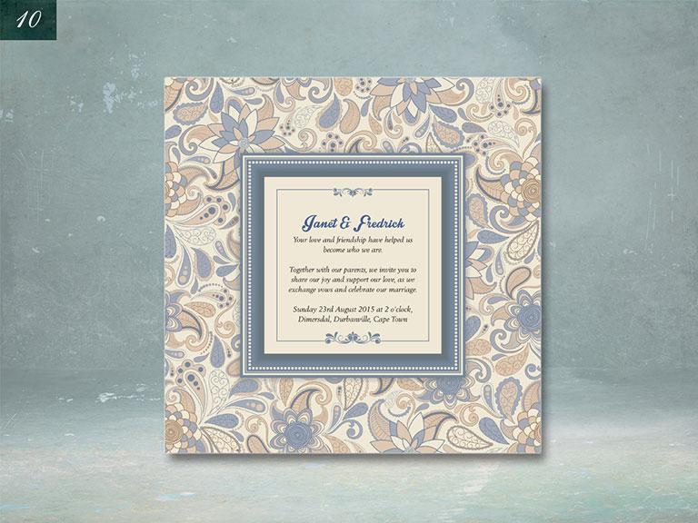 Wedding Invites Ripple Design Graphic Designer – Customize Your Wedding Invitations